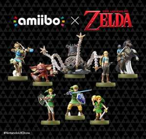 Zelda Collection amiibo BACK IN STOCK £10.99 / £12.98 delivered @ Nintendo Official UK Store