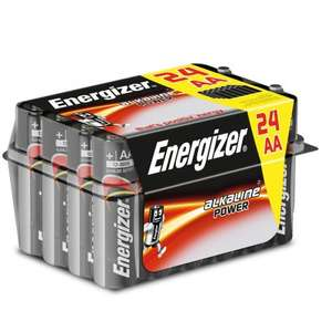 Energizer AA OR AAA Battery 24 Pack £5.39 w/code @ Robert Dyas