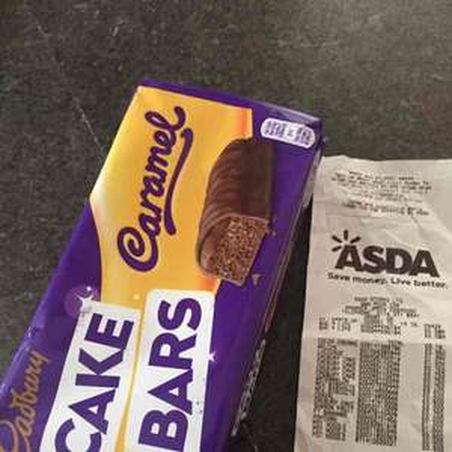 10 PACK Cadburys Caramel Cake Bars - 75p instore @ Asda Leicester