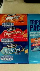McVitie's Triple pack only 75p at One Stop.