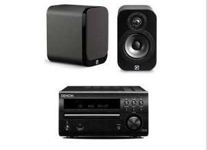 DENON DM40 & Q Acoustics Q3010 in Richer sound £259 get Extra £10 off for VIP members £249