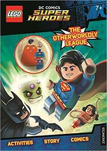 LEGO DC Superheroes Activity Book with Superman Minifigure £2.09 @ Amazon (£5.08 Non Prime)