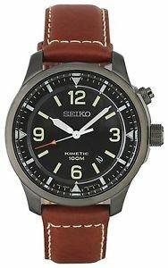 Seiko Men's Black Dial Kinetic Watch £69.99 @ Argos Ebay