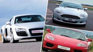 Drive 3 supercars + high speed passenger lap £61.60 Various locations & red letter days