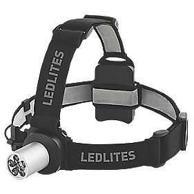 80 Lumen Ledlites E41 waterproof head torch (made by LED Lenser) £9.99 @ Screwfix, free C&C