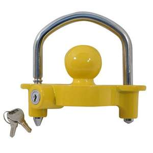 UNIVERSAL HIGH SECURITY HITCHLOCK CARAVAN TRAILER HITCH COUPLING TOW BALL LOCK £10.99 delivered @ ebay direct2public