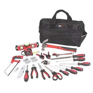 Forge Steel 55 Piece Heavy Duty Tool Kit - was £30 now £15 @ B&Q (C&C)
