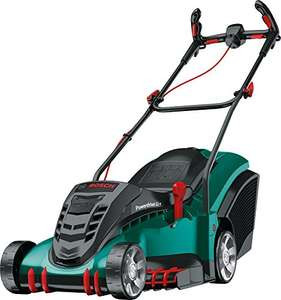 AMAZON Deal of the day-Bosch Rotak 430 LI Ergoflex Cordless Lawn Mower with Two 36 V Lithium-Ion Battery, Cutting Width 43 cm, £299.99 @ AMAZON