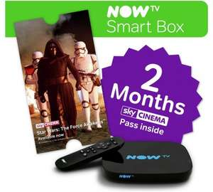 NowTv Smart box with 2 months Movies £29.99 inc. delvery at Maplin