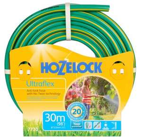 Hozelock Ultra Flex Hose 30m £11 @ B&Q (Free C+C)