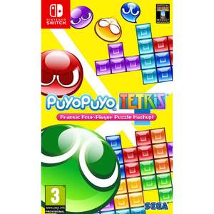 Puyo Puyo Tetris (N. Switch) £24.95 Delivered @ The Game Collection
