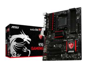MSI 970 GAMING Socket AM3+ 7.1-Channel HD Audio ATX Motherboard w/ FREE Saturday Delivery £69.98 @ eBuyer
