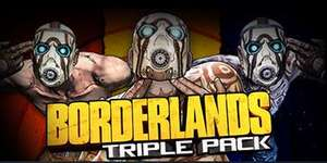 Borderlands Triple Pack £14.83 Steam