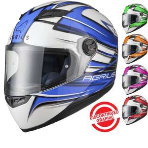 Agrius Rage Charger Motorcycle Helmet (Pinlock Ready) (Various Colours) £26.99 delivered w/code @ Ghost Bikes