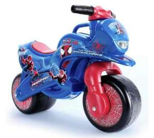 Spider-Man Foot To Floor Ride On race bike was £39.99 now £14.99 Free C&C @ Argos (also Disney Frozen version same price)