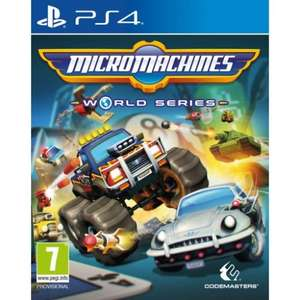 Micro Machines World Series (PS4/XB1) - £17.95 at TheGameCollection (with code)