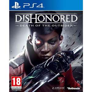 DISHONORED: DEATH OF THE OUTSIDER PS4 £16.15 with code E3HANGOVER @ TheGameCollection PreOrder