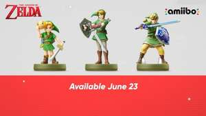 Legend of Zelda new Amiibos LINK (Twilight princess, Majora's Mask, Skyward Sword) IN STOCK @ GAME £14.99