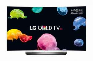 "LG OLED55C6V Smart 3D 4K HDR 55"" Curved OLED TV + 2m HDMI Cable £1403.99 use code TV100A - 5 Year guarantee at Currys"