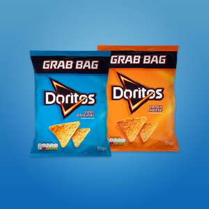 FREE Doritos Grab Bag (55g) at WHSmith via O2 Priority