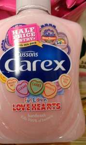 Half price entry to Alton Towers and SeaLife with purchase of  Carex Love Hearts Handwash 250Ml £1 @ Tesco