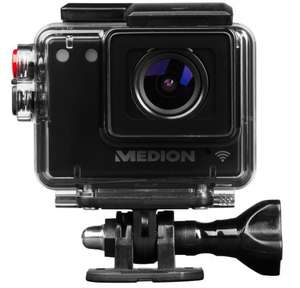MEDION LIFE S47124 Wireless Action Camcorder with Full HD Display 30fps 3.0 megapixel CMOS sensor Waterproof 60m Camera mode: 2592 x 1944 pixels Included several accessories! Black  Only £12.99 (Prime) £17.74  (Non Prime) Sold by MEDION UK and Fulfil