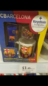 Mug with chocolate and keychain £1.49 @ Home Bargains