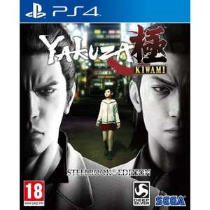 Yakuza Kiwami - SteelBook Edition (PS4) - £24.25 @ The Game Collection (also, Uncharted: The Lost Legacy)