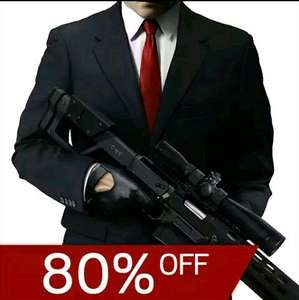 Hitman Sniper 80% off Google Play Store 79p
