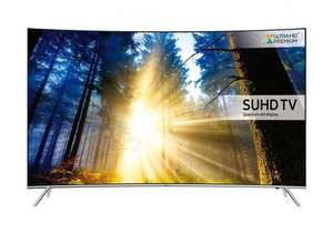 "Samsung UE65KS7500 65"" Smart Curved SUHD 4K LED TV with 5 Years Warranty  £1149.00  PRC Direct"