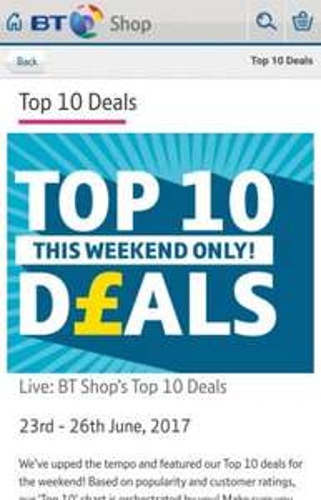 Top 10 Deals Weekend Promo @  BT Shop ie Apple iPad Pro 9.7-inch Wi-Fi 32GB Silver £468.99