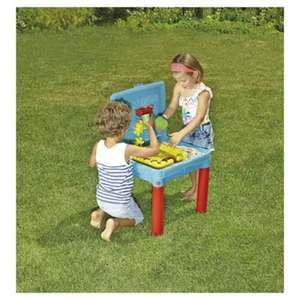 Heads Up Tesco Sand And Water Activity Table Back to £15 (Monday 26th June) @ Tesco Direct