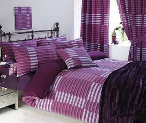 Madison Single Bumper Set in Plum £4.99 +  £3.99 Del or free wys £10 @ Halfcost