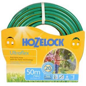 Hozelock ultra flex hose 50m clearance £16 C+C @ B&Q