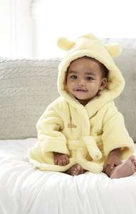 Personalised Baby Robe for £5.99 delivered with code 015 at Studio