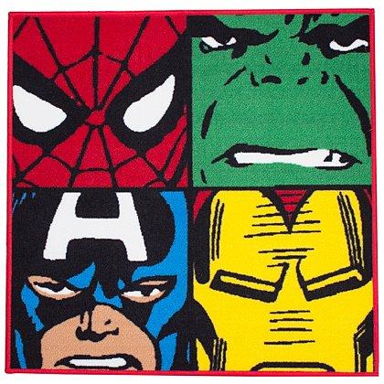 Marvel rug 80cm x 80cm was £14 now £10 C+C @ Asda George