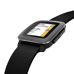 Pebble Time Black £47.97 Sold by DotWell Electronics and Fulfilled by Amazon.
