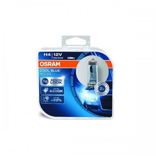 OSRAM H4 Xenon effect Cool Blue Intense. Twin pack £8.31 @ Eurocarparts