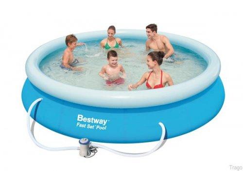 Bestway 12 Foot Fast Set Pool Set £29.99 instore @ Trago Mills (Liskeard)
