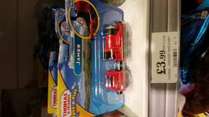 Thomas the tank engine take and play, large engines found on home bargains for £3.99