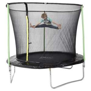 Plum 8ft Trampoline & Enclosure now £70 + free C&C at Tesco Direct