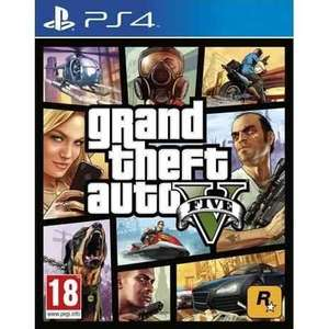 Grand Theft Auto 5 PS4 / XBOX ONE Tesco in store