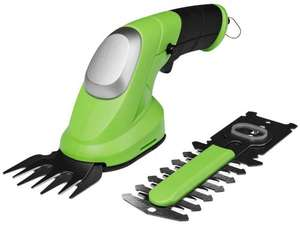 MEDION Electric Cordless Garden Grass and Shrub Shear Hedge 2 in 1 trimmer Battery operating time max 50 minutes £17.99 delivered @ Amazon