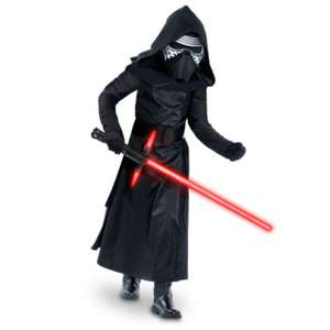 Disney Store Kylo Ren Costume For Kids, Star Wars: The Force Awakens £5.00 (only age 5-6 years available online but plenty of sizes instore at Chester store)