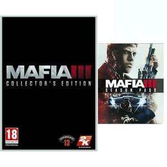Mafia III Collector's Edition £37.99 @ GAME PS4,Xbox One & PC