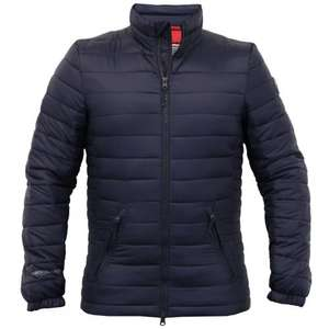 Crosshatch Navy Jacket Down from £45 £10 @ Burton FREE C+C