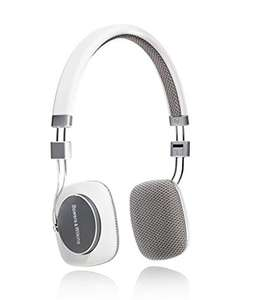 Bowers & Wilkins P3 On-Ear Headphones in White £59.95 @ Amazon & John Lewis