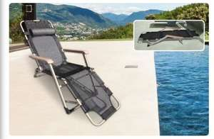 Zero gravity 2 in 1 chair lounger £35.98 or 2 for £58.98 @ livingsocial (sold by Your Essential Store)