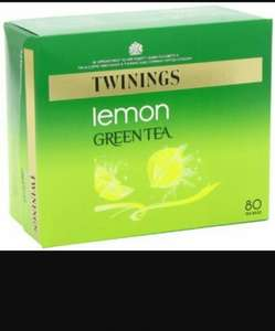 Twinings Green Tea with Lemon 80 teabags £1.99 instore @ Homebargains