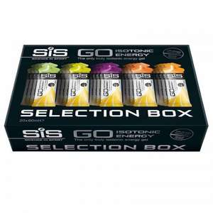 Sis go gels. Mixed 20 pack 60ml £15.38 Delivered from Wiggle saving 45%